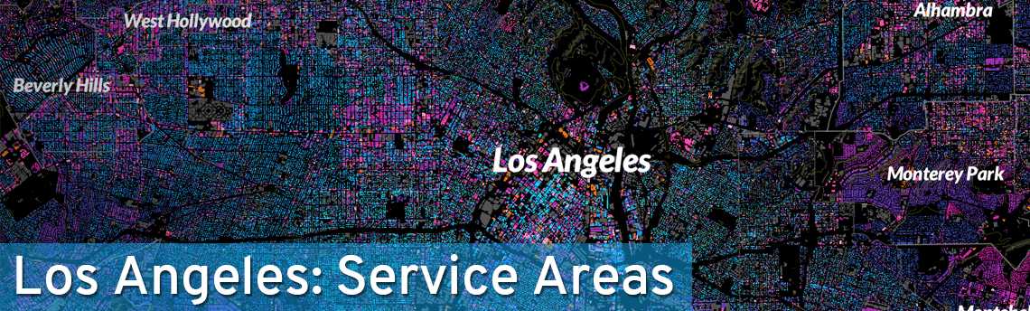 Los Angeles Pest Control Service Areas