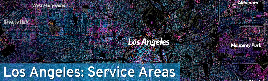 Los Angeles Pest Control Service Areas