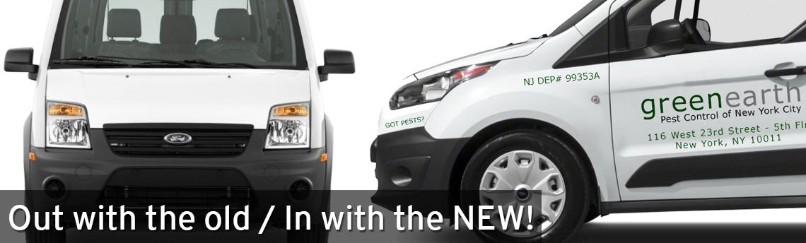 New York City Pest Control team gets new vans
